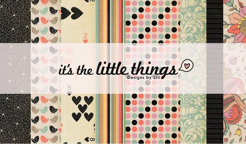 Fancy Pants - the little things