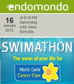 Endomondo swim