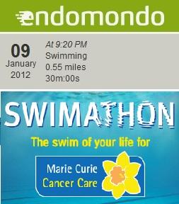 Endomondo swim
